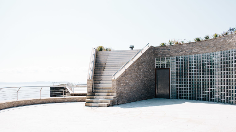 Drehort moderne Villa am Meer